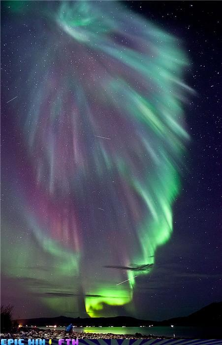 awesome photos - Aurora over Norway