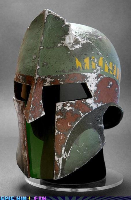 awesome photos  - Bobba Fet Spartan Warrior